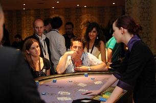 Blackjack invloed spelers