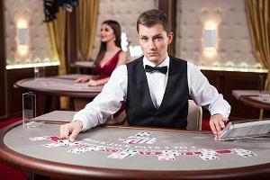 Blackjack dealers valsspelen
